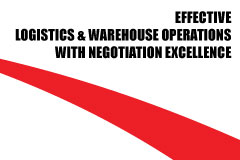 Effective Logistics & Warehouse Operations with Negotiation Excellence
